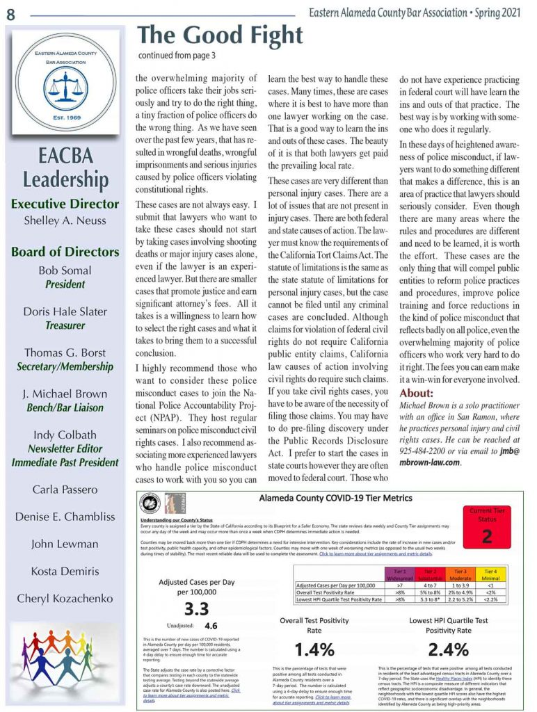 EACBA Newsletter Spring 2021, Page 8